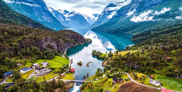 Circuit Norvège en avion